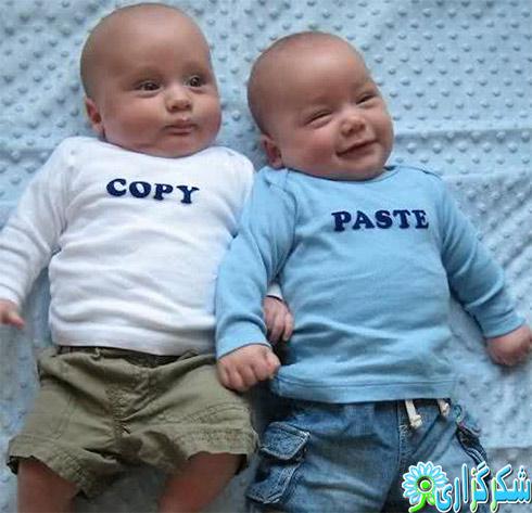 دو قلو_عکس بچه های دو قلو_خوشگل_قشنگ_زیبا_نکات تغذیه ای برای دو قلو و چند قلوها