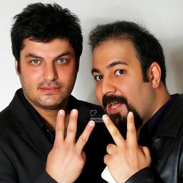 سام درخشانی و علی اوجی