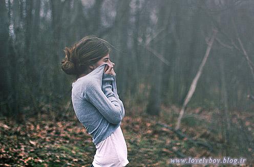 عکس دختر تنها