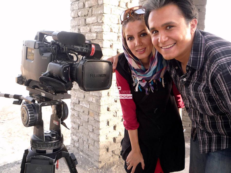 کیوان محمود نژاد و همسرش
