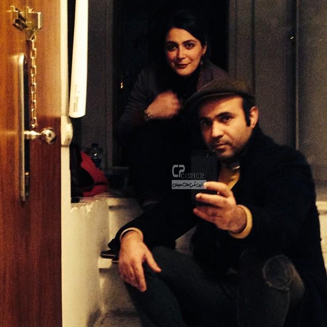 الهام کردا و همسرش