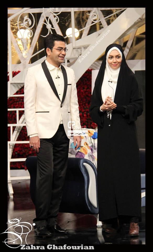 فرزاد حسنی و همسرش آزاده نامداری