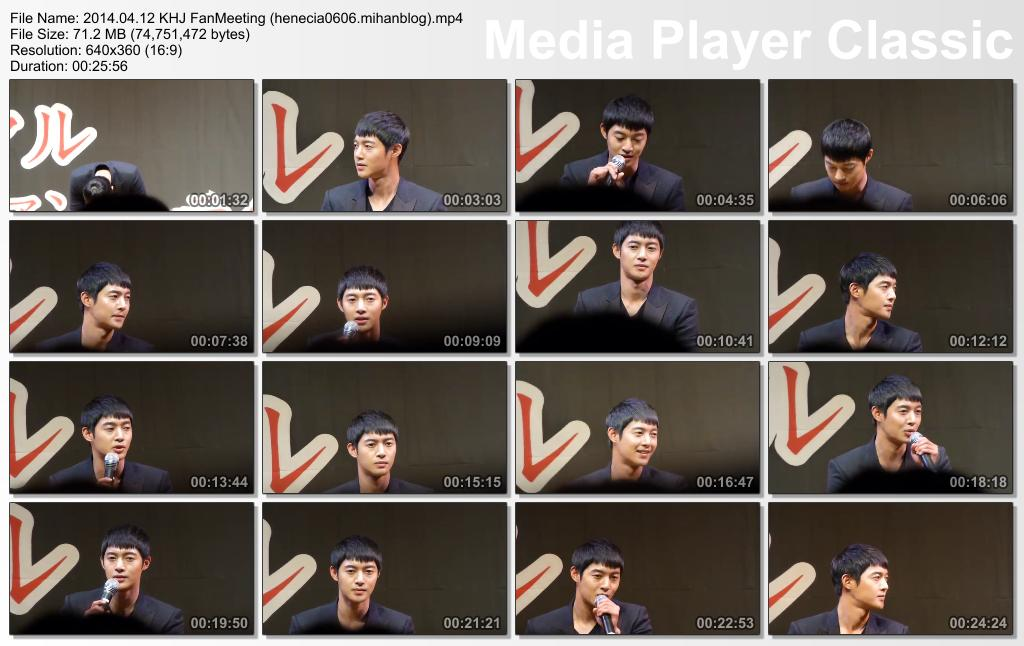[Fancam+Photo] Kim Hyun Joong Inspiring Generation Special Fan Meeting in Seoul [14.04.12]