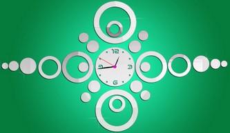 خرید ساعت دیواری تزیینی تكه ای 2014