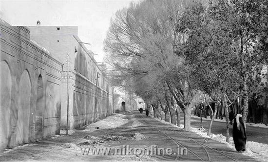 خیابان ناصر خسرو تهران - حدود ۱۰۰ سال پیش زمان قاجار
