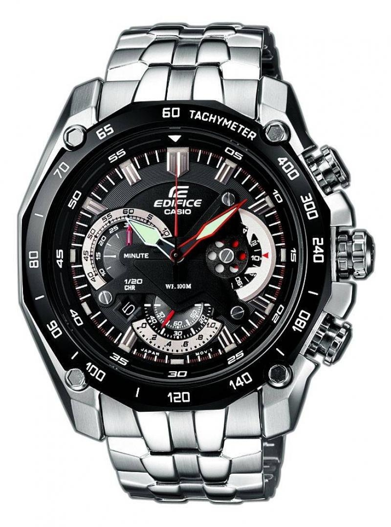خرید ساعت مچی مردانه مشکی کاسیو EF 550