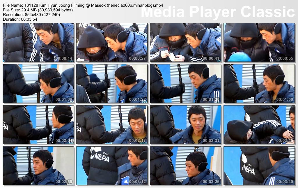 Up2KHJ Fancam_Kim Hyun Joong Inspiring Generation Shooting