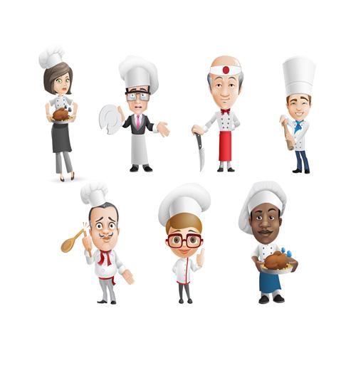 وکتور آشپز