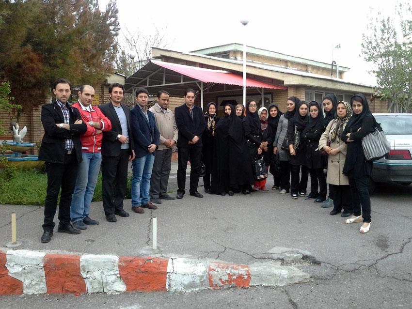 بازدید همیاران حقوق بشر از خانه سالمندان مجتمع بهزیستی شهید فیاض بخش تبریز