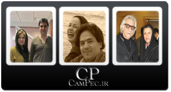 عکسهای جدید بازیگران با همسرانشان اردیبهشت 93