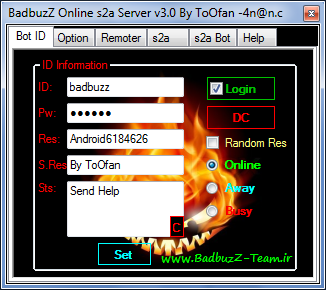 BadbuzZ Online s2a Server v3.0 S2a31