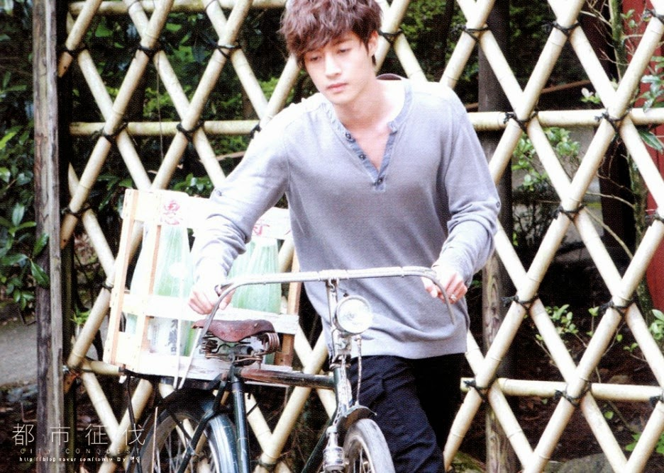 "tomjw Scan_Kim Hyun Joong - Living Because I'm alive - Drama ""City Conquest"" OST DVD"