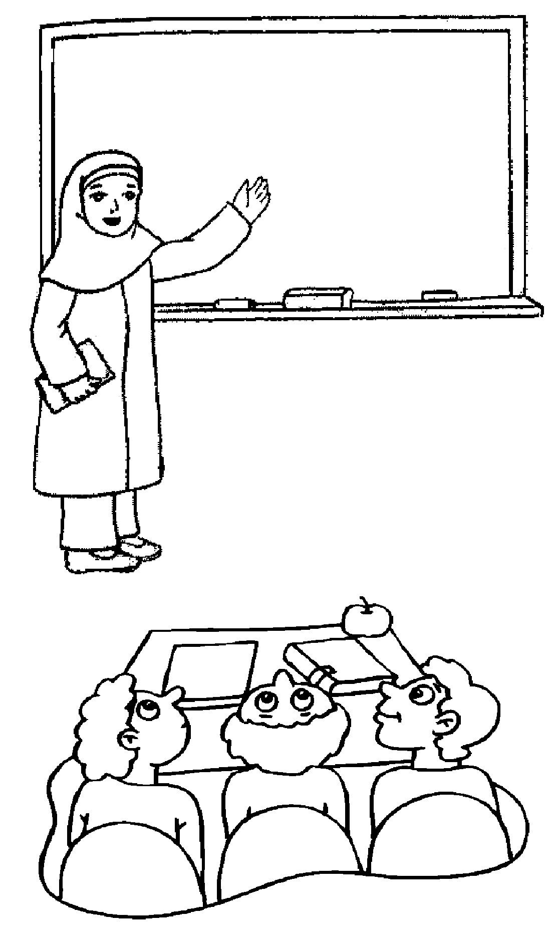طرح و تصویر کودکانه روز معلم