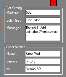 free FullBot Server v1.0.3 - Crop Mod Fullbot_setting
