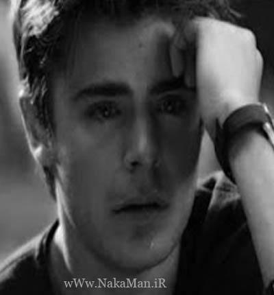 عکس مرد غمگین