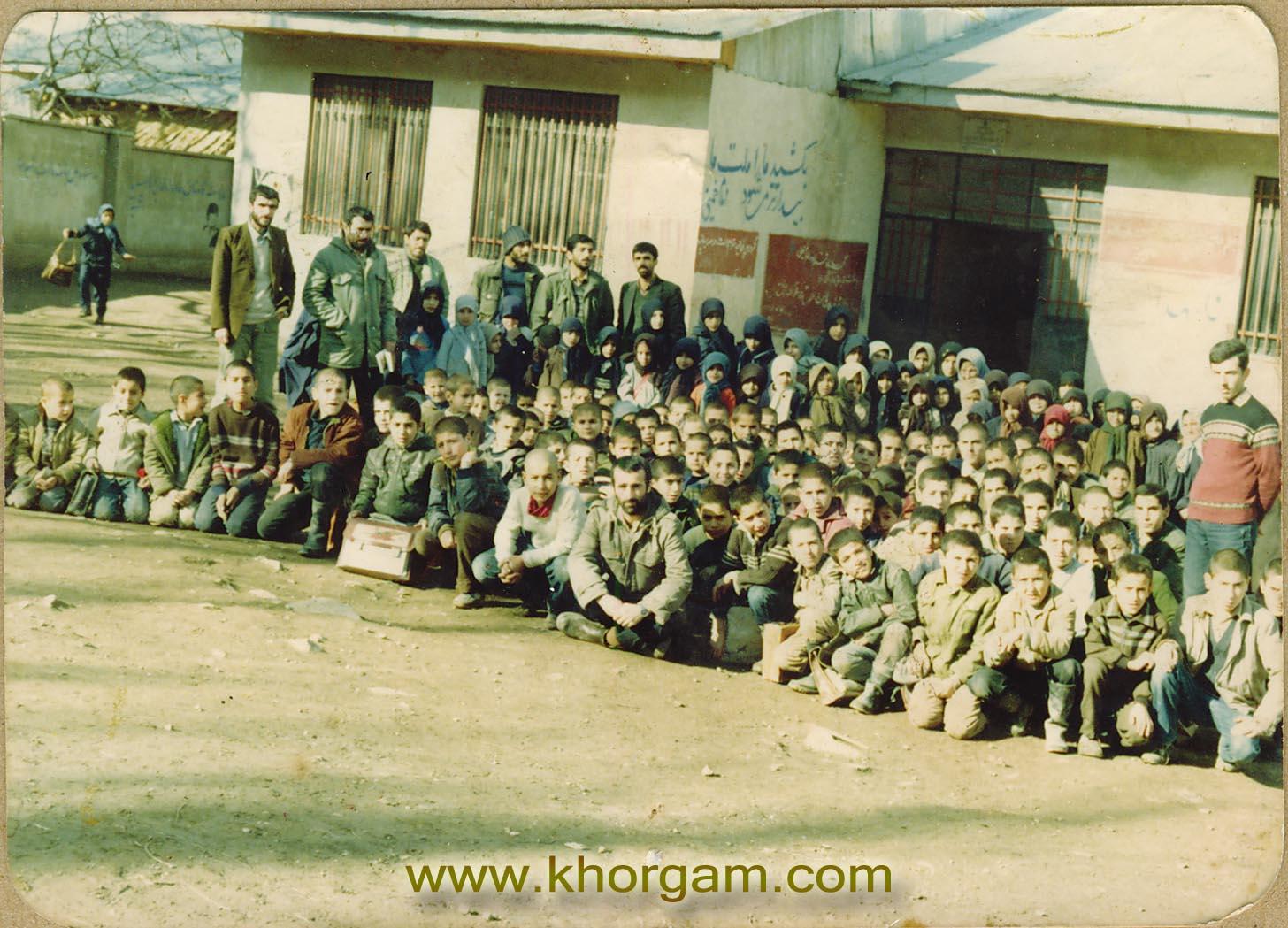 شاگردان قدیمی مدرسه لیاول علیا