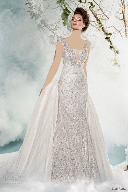 مدل لباس عروس 2014 جدید