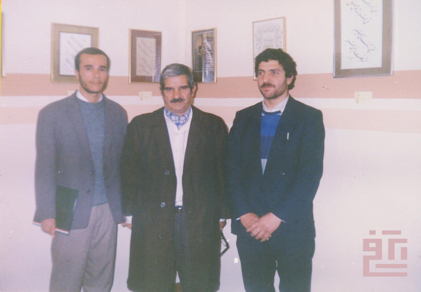 علی اشرفی. استاد واشقانی. محسن خرازی