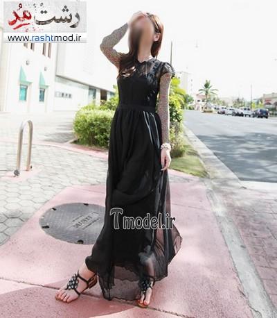 انواع طرح های جدید مدل لباس مجلسی بلند زنانه 2014