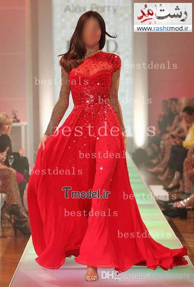 مدل لباس مجلسی بلند زنانه 2014