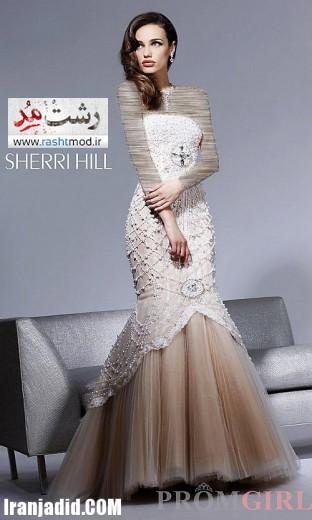 مدلهاي فشن لباس شب مجلسي زنانه 2014