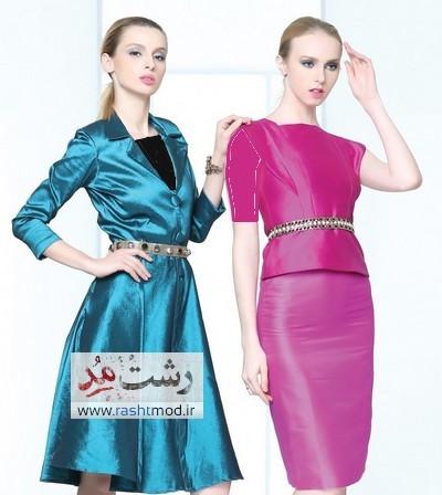 rashtmod ir000 مدلهای مختلف لباس دخترانه طرح فشن