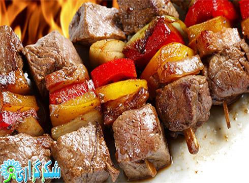 کباب_نکات و فنون پخت کباب درجه یک و سالم_بهداشتی_کباب کوبیده_طرز تهیه گوجه کبابی