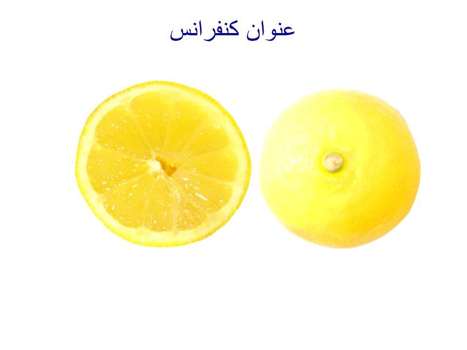 قالب پاورپوینت لیمو