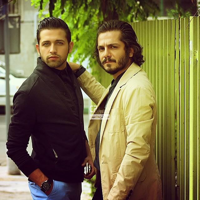 محسن افشانی و عباس غزالی