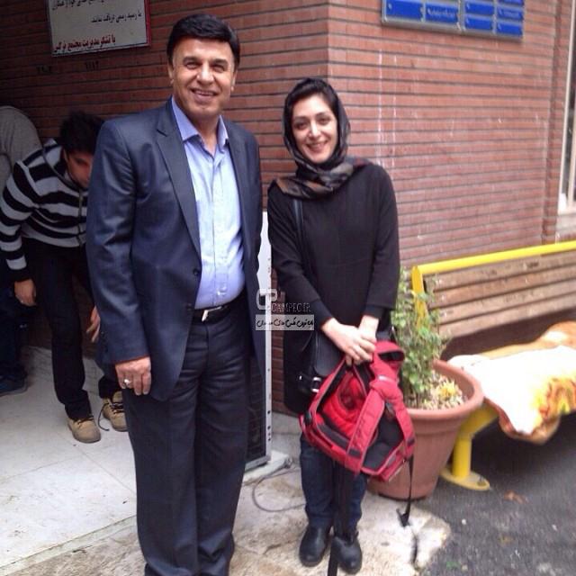 ملیشا مهدی نژاد و پرویز مظلومی