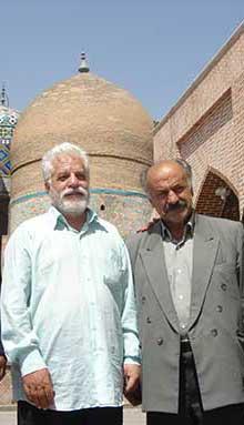 دکتر حسین محمدزاده صدیق و عاصم اردبیلی