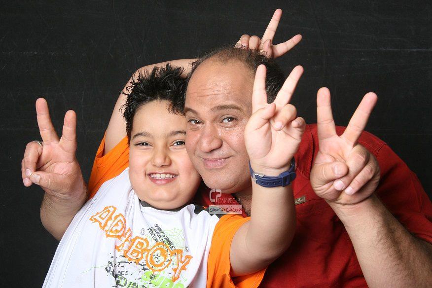 نادر سلیمانی و پسرش