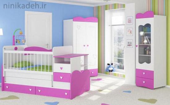سرویس خواب کودک - طراحی اتاق نوزاد