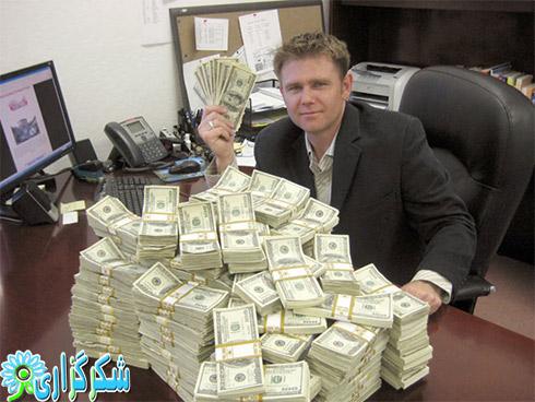 پول دار شدن_میلیونر شدن_کسب در آمد در اینترنت_حلال_قانونی_راهنمایی