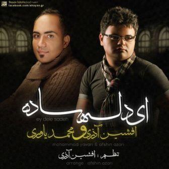 دانلود آهنگ  افشین آذری و محمد یاوری به نام دل ساده(درخواستي)