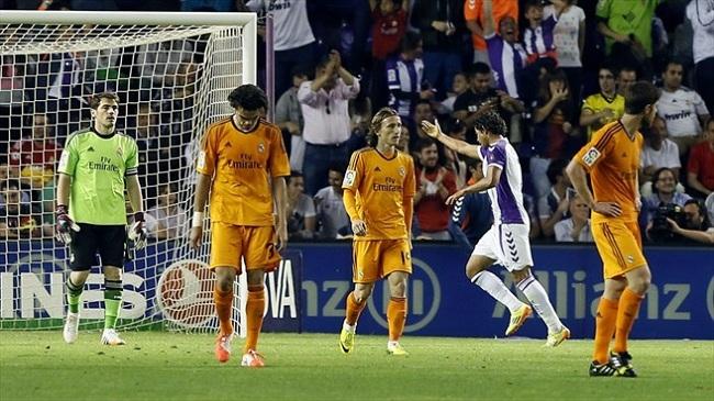 توقف رئال مادرید در خانه وایادولید؛ کمرنگ شدن قهرمانی رئال