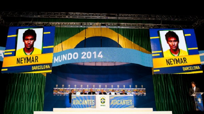23 بازیکن برزیل برای حضور در جامجهانی مشخص شد