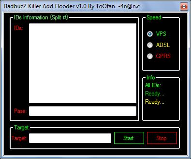 BadbuzZ Killer Add Flooder v1.0 Killer