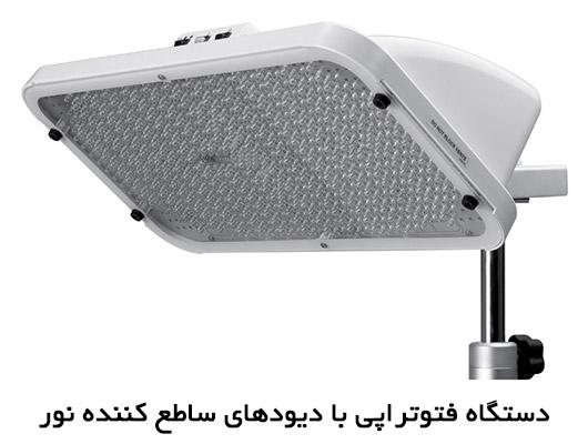 دستگاه فتوتراپی با دیودهای ساطع کننده نور