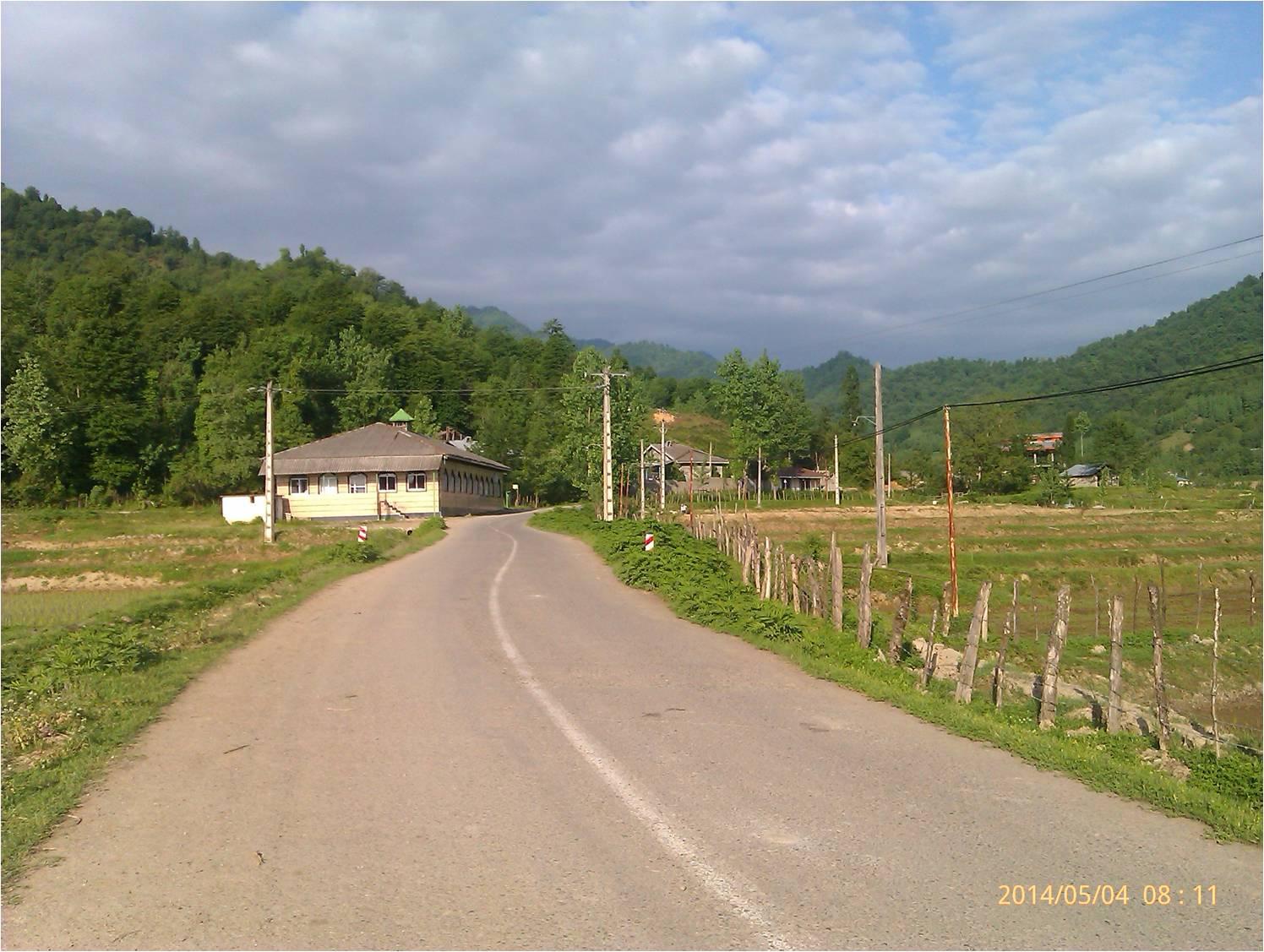 تصویر زیبا از بهار روستای شولم