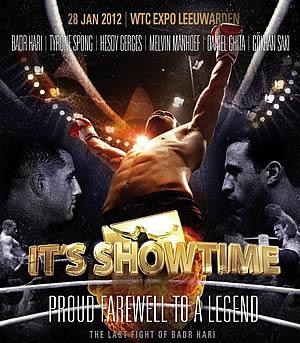 دانلود  (Badr Hari vs Gokhan Saki (It's Showtime 2012 in Leeuwarden