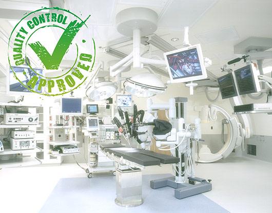 کالیبراسیون و کنترل کیفی تجهیزات پزشکی