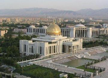 کاخ ترکمنباشی در عشقآباد