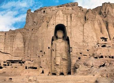 مجسمه بزرگ بودا در بامیان