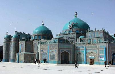 روضه شریف در مزارشریف