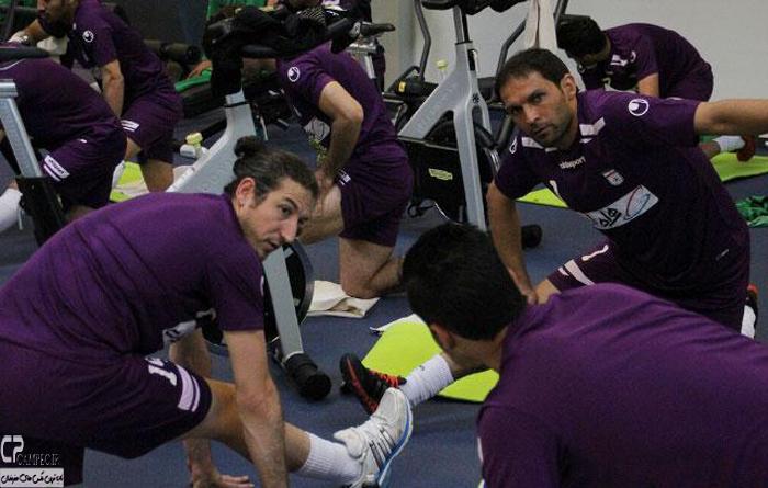 عکس های تمرین تیم ملی فوتبال در اتریش