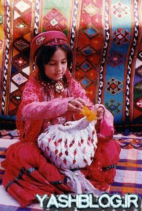 عکس لباس ترکی قشقایی