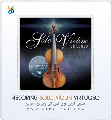 دانلود وی اس تی ویولن طبیعی 4Scoring Solo Violin Virtuoso