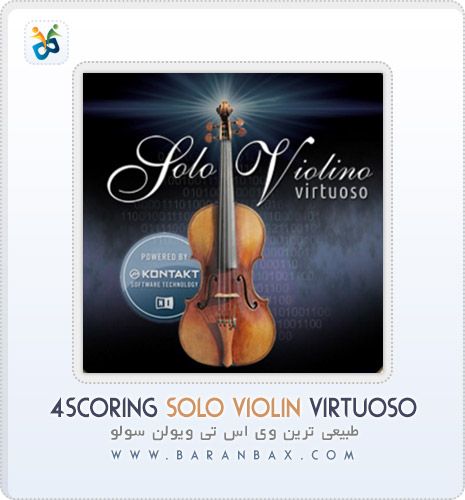 4scoring solo violin دانلود 4Scoring Solo Violin Virtuoso طبیعی ترین وی اس تی ویولن
