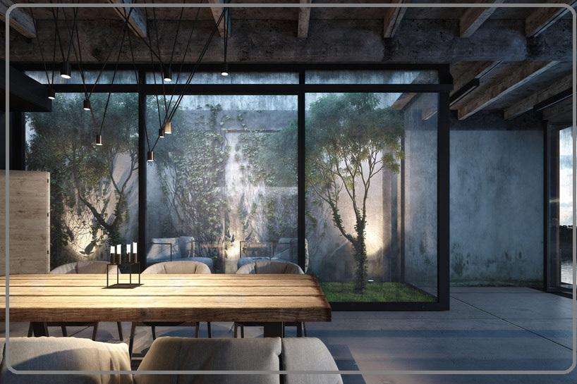 معماری و طراحی ژاپن ، خانه ای در دریای سیاه